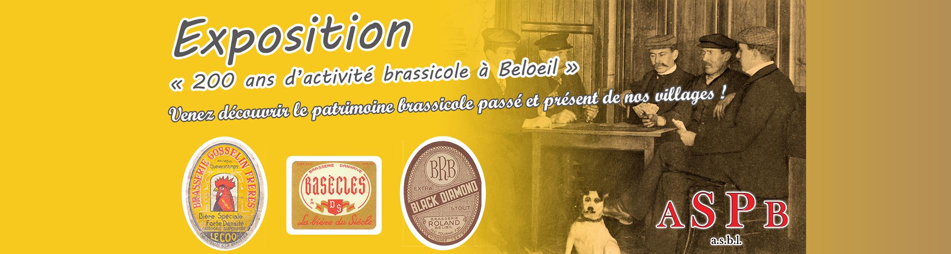 """Expo """"200 ans d'activité brassicole à Beloeil"""""""