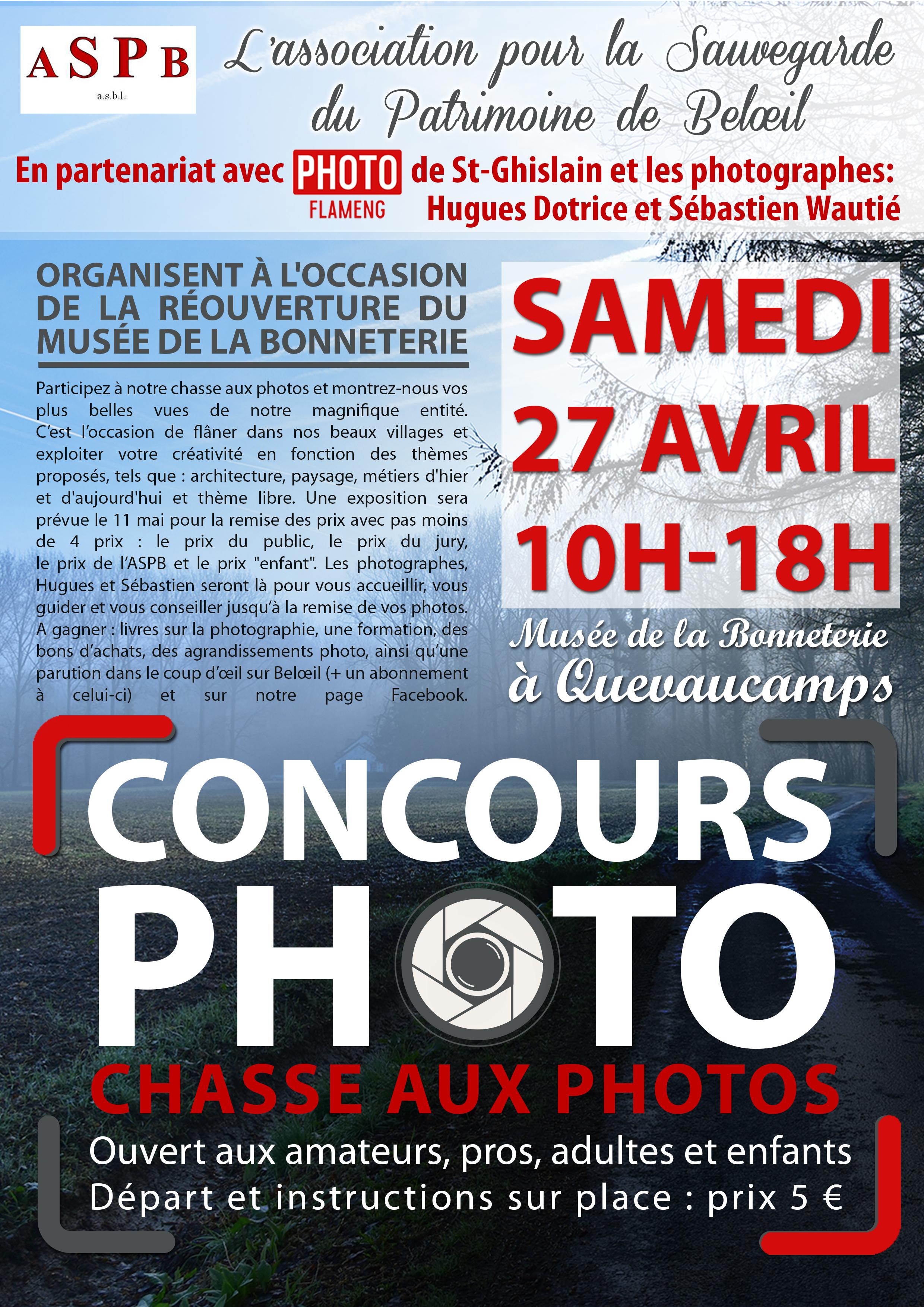 concours photo Beloeil